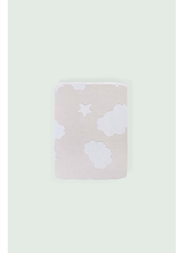 İrya New Cloud Bebek Havlusu Gri 70x120 Bej